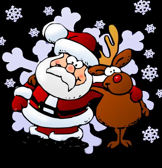 Santa Reindeer Hug.png