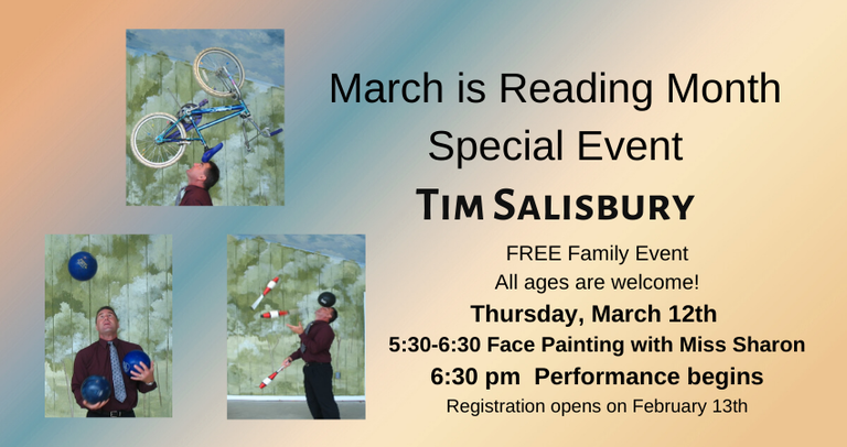 March is Reading Month Special Event 2.png