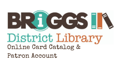 Online card catalog & patron account